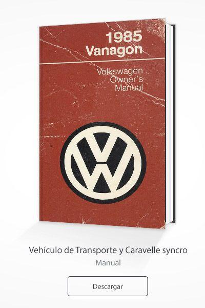 Manuales Volkswagen T3