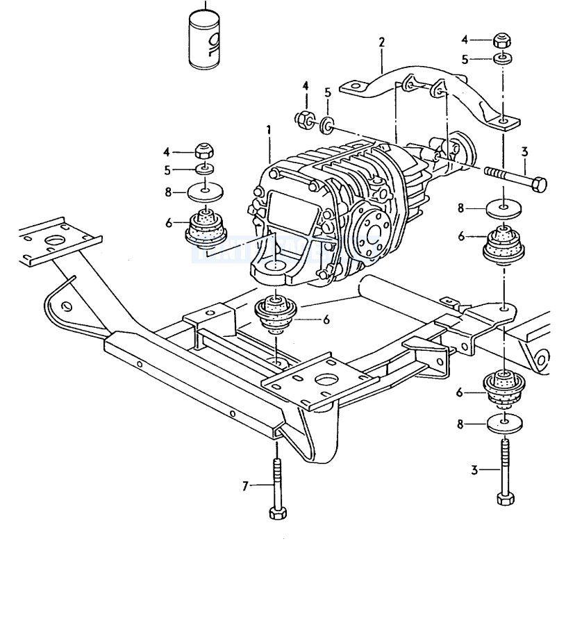 Esquema front differential