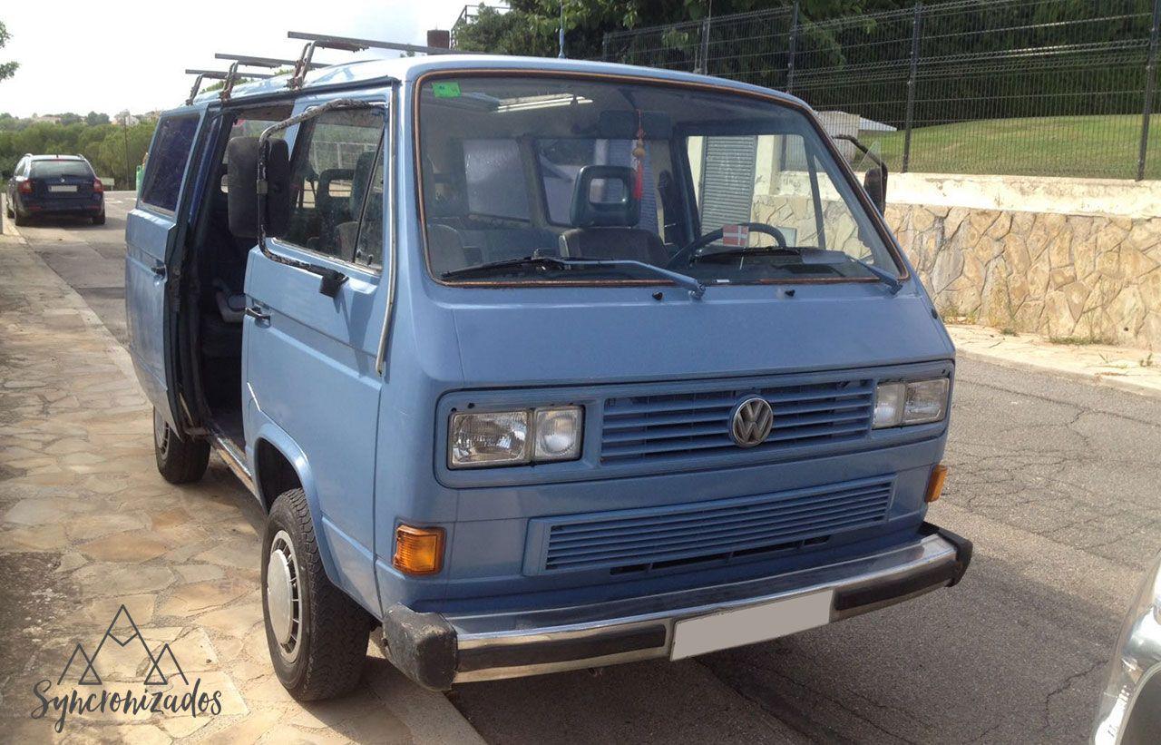 Primeras fotos de la furgoneta