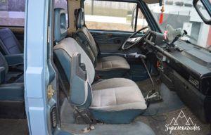 Interior furgoneta