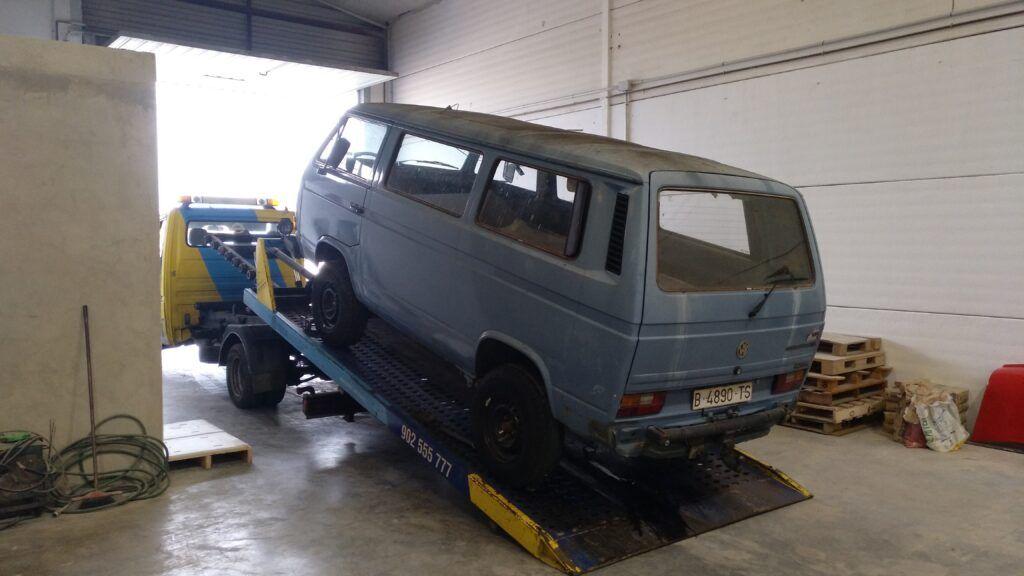Furgoneta en La Cotxera Classic Garage