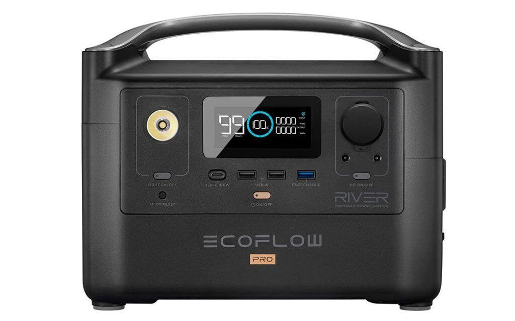 Estación de energía portátil Ecoflow River Pro